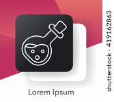 game energy hp line icon