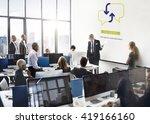 business corporate analysis...   Shutterstock . vector #419166160