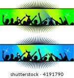 party decoration   people... | Shutterstock .eps vector #4191790