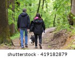 Middle Aged Couple Walking...