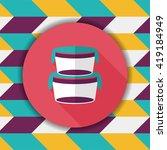 kitchenware preserving... | Shutterstock .eps vector #419184949