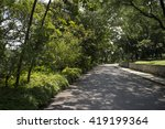blurry background   parks ... | Shutterstock . vector #419199364