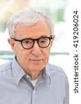 Small photo of woody allen attends cafe society photocall during the 69th cannes film festival at palais du festival in Cannes, 11 may 2016.