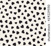 seamless monochrome pattern... | Shutterstock .eps vector #419229550