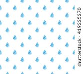polygonal rain drop pattern in... | Shutterstock .eps vector #419235370