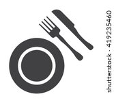 food icon | Shutterstock .eps vector #419235460