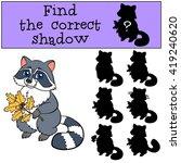 children games  find the... | Shutterstock .eps vector #419240620