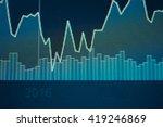 stock market chart. business...   Shutterstock . vector #419246869