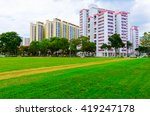 View Of Singapore Residential...
