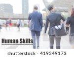 blur motion professional... | Shutterstock . vector #419249173