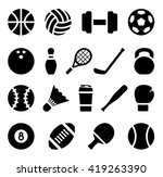 vector illustration. icon set... | Shutterstock .eps vector #419263390