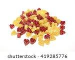 pasta in a heart shape | Shutterstock . vector #419285776
