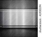 metal template background ... | Shutterstock . vector #41930194