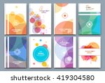 abstract composition  font... | Shutterstock .eps vector #419304580