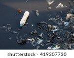 water pollution environmental | Shutterstock . vector #419307730