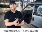 clipboard. | Shutterstock . vector #419316298