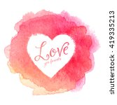 Pink Watercolor Painted Stain...