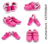 collection of photos children... | Shutterstock . vector #419350864