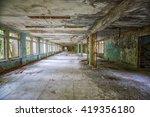 inside a school hall in... | Shutterstock . vector #419356180