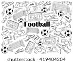 football design colorless set... | Shutterstock .eps vector #419404204