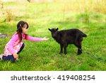 the children happy outdoors... | Shutterstock . vector #419408254