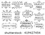 hand drawn vector elements...