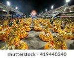 rio de janeiro  brazil  ... | Shutterstock . vector #419440240
