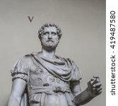 Statue Of A Nobel Roman Man ...