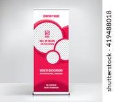 banner design background ... | Shutterstock .eps vector #419488018