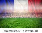 soccer football stadium merge...
