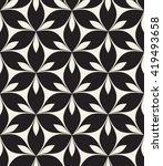 vector seamless pattern.... | Shutterstock .eps vector #419493658