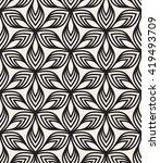 vector seamless pattern.... | Shutterstock .eps vector #419493709