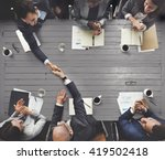 business meeting team... | Shutterstock . vector #419502418