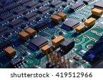 computer main board  ...   Shutterstock . vector #419512966
