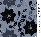 elegant seamless pattern with... | Shutterstock .eps vector #419515813