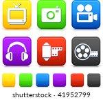 entertainment technology button ... | Shutterstock .eps vector #41952799