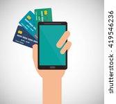 money design. payment icon.... | Shutterstock .eps vector #419546236