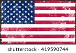 grunge usa flag.vintage... | Shutterstock .eps vector #419590744