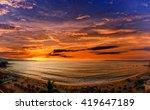 los muertos beach  one of the... | Shutterstock . vector #419647189