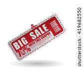 sale design. offer icon....   Shutterstock .eps vector #419682550