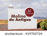 Museum Windmill In Antigua...
