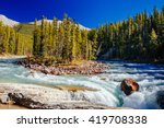 The Sunwapta River is a major tributary of the Athabasca River in Jasper National Park in Alberta, Canada. The headwaters of the Sunwapta River are near the Columbia Icefield near Sunwapta pass.
