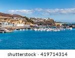 port in morro jable  ...   Shutterstock . vector #419714314