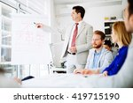 lecture and  training  in... | Shutterstock . vector #419715190