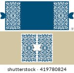 the layout of the cards in...   Shutterstock .eps vector #419780824