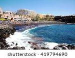 playa de la arena is a small... | Shutterstock . vector #419794690