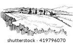 tuscany | Shutterstock .eps vector #419796070