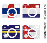 nation flag. film strip... | Shutterstock . vector #419831173
