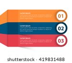 creative colorful infographic... | Shutterstock .eps vector #419831488