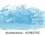ice cubes in blue light | Shutterstock . vector #41983792